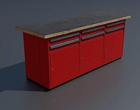 Workshop workbench 2 PBR 3D