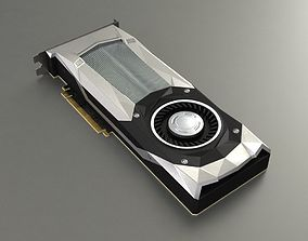 3D asset animated GPU video card for PC