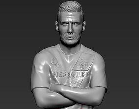 David Beckham 3D printing ready stl obj
