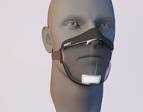 nose Protection mask 3D model