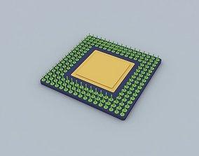 Processor 3D model