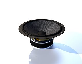 3D model Speaker Mid-Range