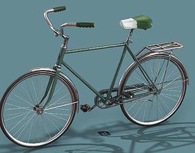 Vintage bicycle Schwinn Low poly 3D asset