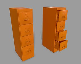 Cabinet 3D model realtime industry