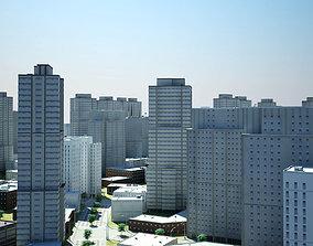 3D City Scape 6