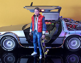 Marty McFly HQ 3Dprint 1-8 Scale or 1-6 Scale to