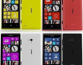 3D Nokia lumia 720 Collection