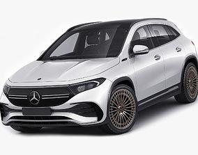 3D Mercedes EQA 2021