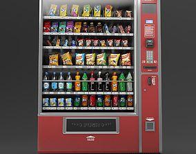 3D model Vending machine