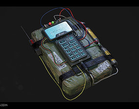 3D model C4 Explosive Bomb