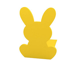 3D print model Bookend easter
