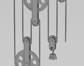 3D pulley system