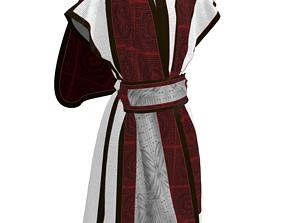Roman senator tunic 3D model