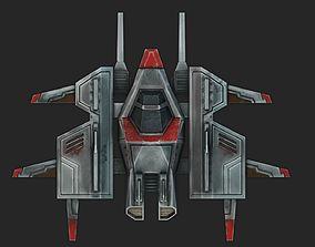 Spacecraft 3D model VR / AR ready