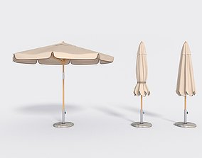 Umbrella Patio Parasol 2 3D model