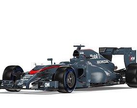 3D F1 Mclaren MP4-30 2015