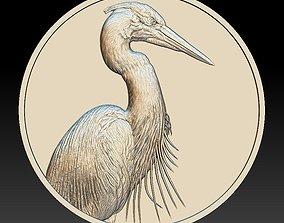 3D printable model Heron Coin -relief -2020