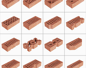 3D model Building bricks