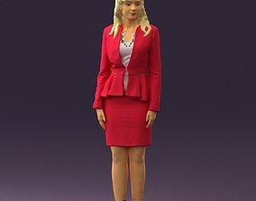 3D print model Woman in pink 0581