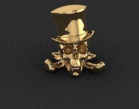 Skull Hat 3D printable model