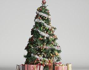 3D box Christmas tree