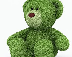3D model Green Teddy Bear