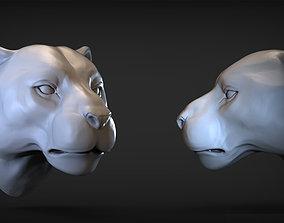 3D print model Puma head