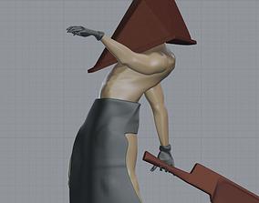 man Pyramid 3D