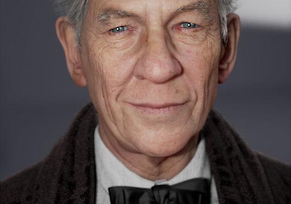 Sir Ian Mckellen by Noel Que