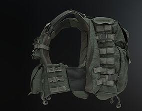 3D BulletProof Vest Backpack