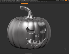 3D print model halloween pumpkin 10