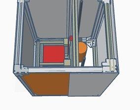 SLA 3D printer Model and prototype