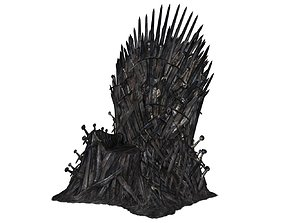 GOT - Iron - Throne 3D model