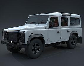 3D model Jeep1