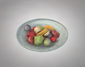 3D model Frozen Fruit plate