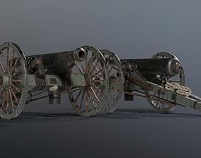SOLDIER Napoleon Cannon 3D