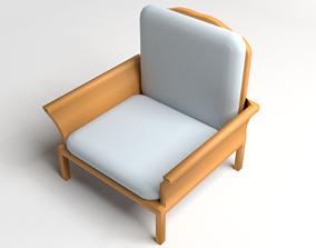 Sofa Single Seater 5 3D