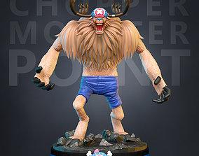 One Piece Chopper 3D print model