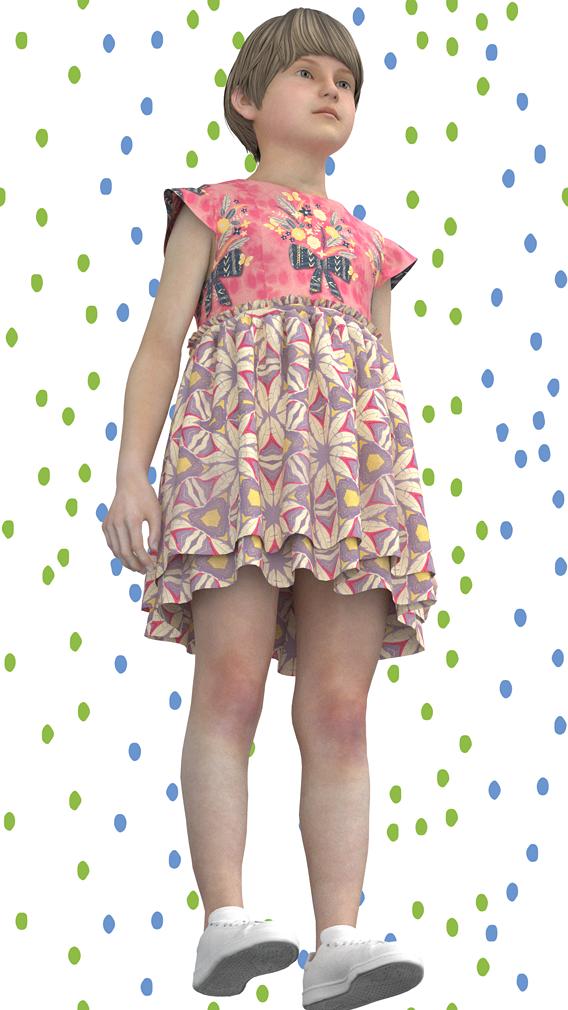 Kid Girls Dress.