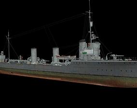 G101 class torpedo boat 3D model