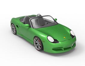 3D car 2003 Porsche Boxster