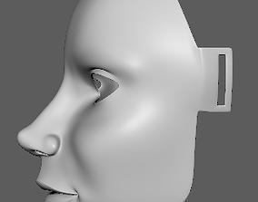 3D print model Female Face Mask 1