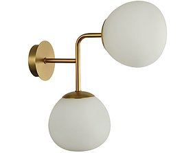 3D model Wall Lamp Erich MOD221-WL-02-G Maytoni Modern