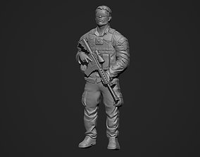 3D printable model Soldier Bas Relief
