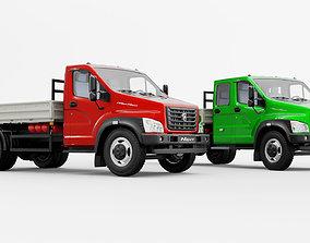 3D GAZ truck - Gazon Next
