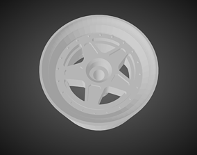 F52 F40 rims for Hot Wheels 3D print model