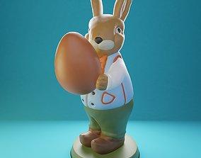 3D print model Easter Bunny RobertV2