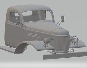 ZIL 157 Printable Cabin Truck