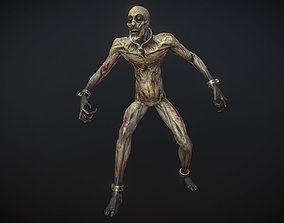 3D model Ghoul-zombie