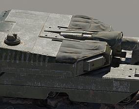 PBR Tank 3D Model